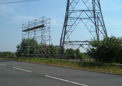 Power Line Crossing, Glasgow 003