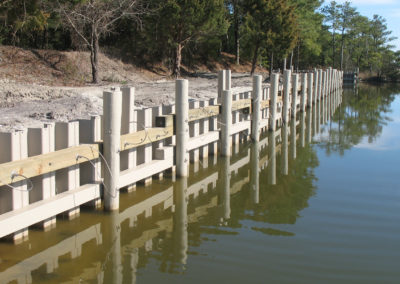 Vinyl Sheet Piling for Sea Wall – USA