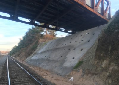 WSSU End Bent Slope Stabilization - Winston Salem, NC 15DEC16 019