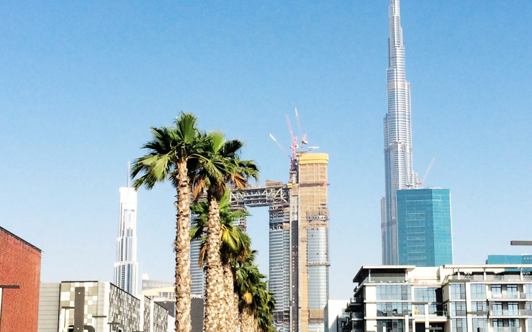Palm Fixing System, City Walk – Dubai