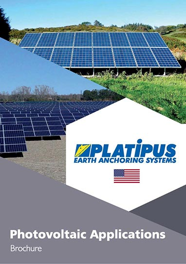 Platipus PV brochure cover with US flag