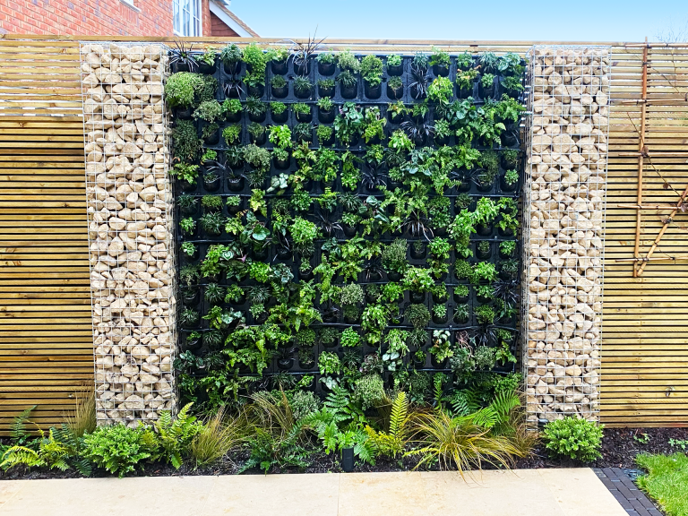 G-WALL in private domestic garden